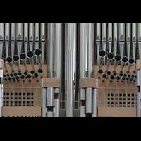 Wesel, Willibrordi-Dom, Prospekt-Detail mit Spanischen Trompeten