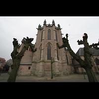 Xanten, Dom St. Viktor, Chor von außen
