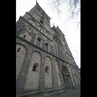 Xanten, Dom St. Viktor, Fassade perspektivisch
