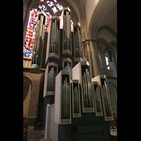 Xanten, Dom St. Viktor, Rückpositiv und Orgel