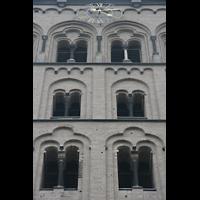 Xanten, Dom St. Viktor, Turm-Detail