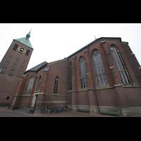 Weeze, St. Cyriakus, Chor und Turm