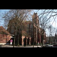 Berlin (Schöneberg), St. Matthias, Außenansicht mit Sakristei