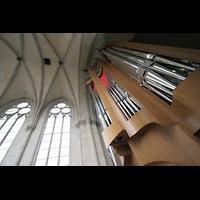Magdeburg, Dom St. Mauritius und Katharina (Hauptorgel), Orgelprospekt und Gewölbe