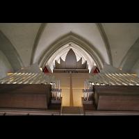Magdeburg, Dom St. Mauritius und Katharina (Hauptorgel), Chamaden auf dem Dach der Orgel