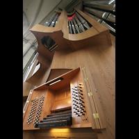 Magdeburg, Dom St. Mauritius und Katharina (Hauptorgel), Spieltisch und große Orgel