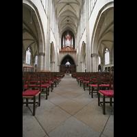 Magdeburg, Dom St. Mauritius und Katharina (Hauptorgel), Innenraum / Hauptschiff in Richtung großer Orgel