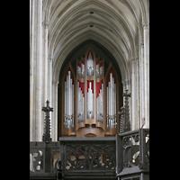 Magdeburg, Dom St. Mauritius und Katharina (Hauptorgel), Blick zur großen Orgel