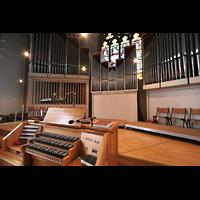 Bremen, Propsteikirche St. Johann, Spieltisch mit Orgel
