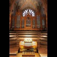 Bremen, Dom St. Petri (Klop-Orgel), Sauer-Orgel mit Spieltisch