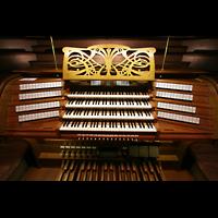 Bremen, Dom St. Petri (Klop-Orgel), Spieltisch der großen Orgel