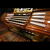 Bremen, Dom St. Petri (Klop-Orgel), Spieltisch