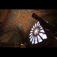 Bremen, Dom St. Petri (Klop-Orgel), Fensterrosette mit gekröpfter Posaune 32'