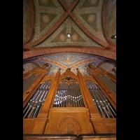 Bremen, Dom St. Petri (Klop-Orgel), Orgel und Deckenmalerei