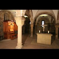 Bremen, Dom St. Petri (Klop-Orgel), Krypta mit Klop-Orgel