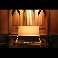 Bremen, Dom St. Petri (Klop-Orgel), Spieltisch der Klop-Orgel
