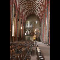 Bremen, Dom St. Petri (Klop-Orgel), Seitenschiff mit Bachorgel