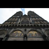 Bremen, Dom St. Petri (Klop-Orgel), Westfassade