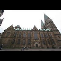 Bremen, Dom St. Petri (Klop-Orgel), Nördliche Seitenansicht