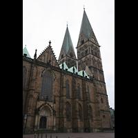 Bremen, Dom St. Petri (Klop-Orgel), Außenansicht