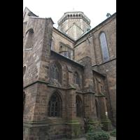 Bremen, Dom St. Petri (Klop-Orgel), Blick zur Vierungskuppel