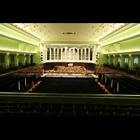 Bremen, Glockensaal, Konzertsaal mit Blick zur Orgel