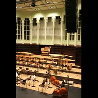 Bremen, Glockensaal, Orchesterbühne und Orgel