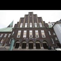Bremen, Glockensaal, Fassade