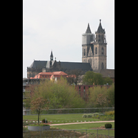 Magdeburg, Dom St. Mauritius und Katharina (Hauptorgel), Seitenansicht
