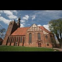 Tangermünde, St. Stephan, Seitenansicht