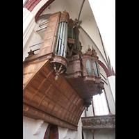 Tangermünde, St. Stephan, Orgels seitlich
