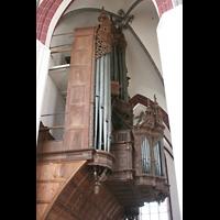 Tangermünde, St. Stephan, Orgel von der Seite gesehen