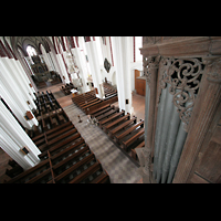 Tangermünde, St. Stephan, Rückpositiv und Innenraum