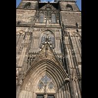 Magdeburg, Dom St. Mauritius und Katharina (Hauptorgel), Fassaden-Detail
