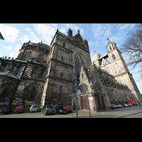 Magdeburg, Dom St. Mauritius und Katharina (Hauptorgel), Ansicht schräg vom Chor aus