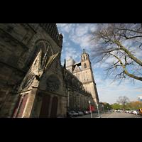 Magdeburg, Dom St. Mauritius und Katharina (Hauptorgel), Querhaus