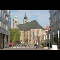 Magdeburg, Kathedrale St. Sebastian (Hauptorgel), Außenansicht vom Chor aus