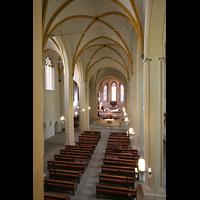 Magdeburg, Kathedrale St. Sebastian (Hauptorgel), Blick von der Orgelempore in die Kirche