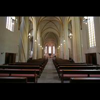 Magdeburg, Kathedrale St. Sebastian (Hauptorgel), Innenraum / Hauptschiff in Richtung Chor