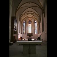 Magdeburg, Kathedrale St. Sebastian (Hauptorgel), Chorraum mit Chororgel