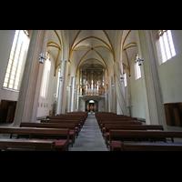 Magdeburg, Kathedrale St. Sebastian (Hauptorgel), Innenraum / Hauptschiff in Richtung großer Orgel