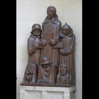 Magdeburg, Dom St. Mauritius und Katharina (Hauptorgel), Magdeburger Ehrenmal von Ernst Barlach