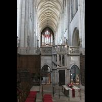 Magdeburg, Dom St. Mauritius und Katharina (Hauptorgel), Blick vom Chor zur Hauptorgel
