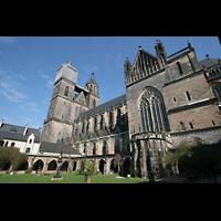 Magdeburg, Dom St. Mauritius und Katharina (Hauptorgel), Außenansicht