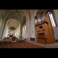 Magdeburg, Kathedrale St. Sebastian (Hauptorgel), Chororgel und Hauptorgel