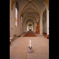 Magdeburg, Kathedrale St. Sebastian (Hauptorgel), Blick vom Ende des Chors durch die Kirche