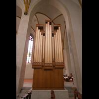 Magdeburg, Kathedrale St. Sebastian (Hauptorgel), Chororgel von hinten