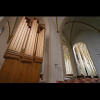 Magdeburg, Kathedrale St. Sebastian (Hauptorgel), Chororgel und Seitenschiff