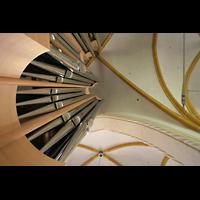 Magdeburg, Kathedrale St. Sebastian (Hauptorgel), Orgel und Gewölbe