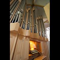 Magdeburg, Kathedrale St. Sebastian (Hauptorgel), Orgel und Spieltisch